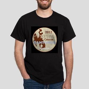 Santorum WYOMING Dark T-Shirt