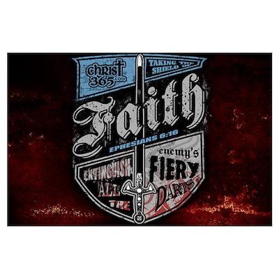 Shield of Faith Wall Art Poster