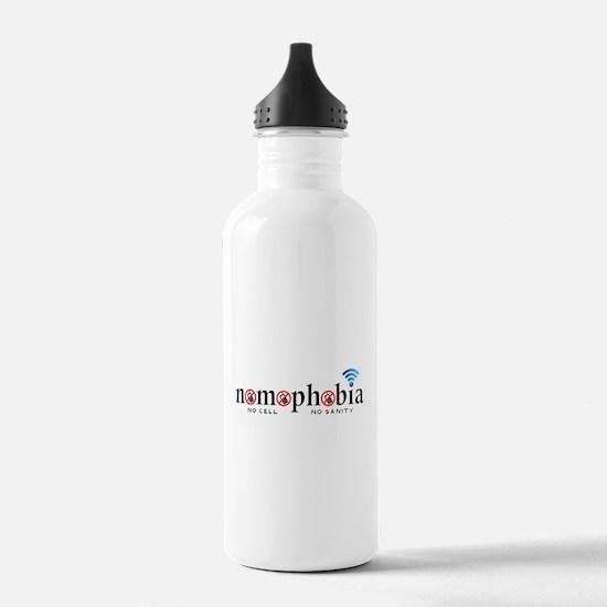 Nomophobia Water Bottle