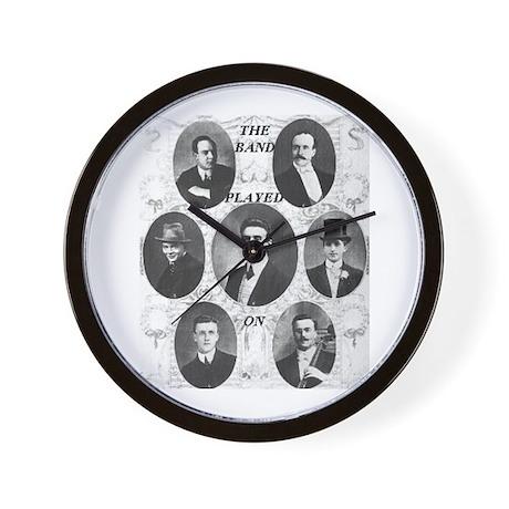 The Wallace Hartley Band Wall Clock