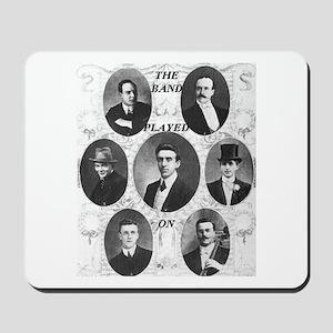 The Wallace Hartley Band Mousepad