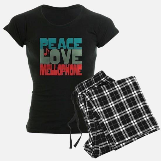 Peace Love Mellophone Pajamas