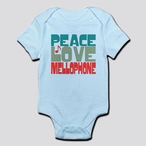 Peace Love Mellophone Infant Bodysuit