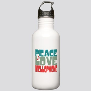 Peace Love Mellophone Stainless Water Bottle 1.0L
