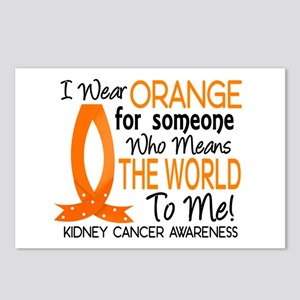 Means World To Me 1 Kidney Cancer Postcards (Packa