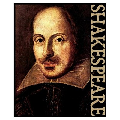 Shakespeare Portrait Wall Art Poster