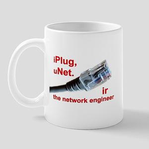 """iPlug, uNet."" Mug"