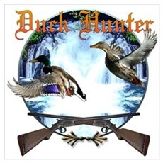 Duck hunter 2 Wall Art Poster