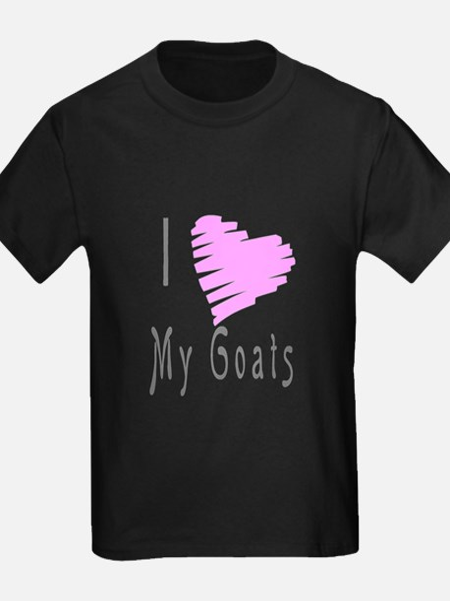 Iheartmy goats T-Shirt