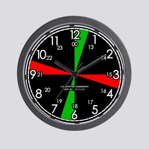Replica Ships Radio Room Wall Clock
