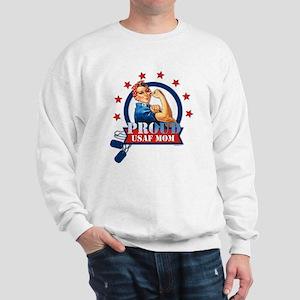 Rosie Proud USAF Mom Sweatshirt
