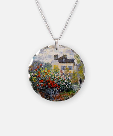 Monet - Argenteuil Necklace Circle Charm