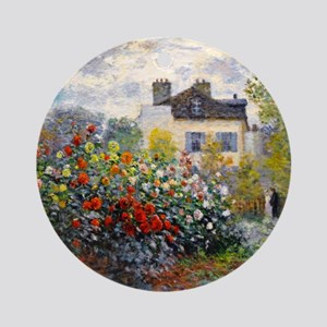 Monet - Argenteuil Ornament (Round)