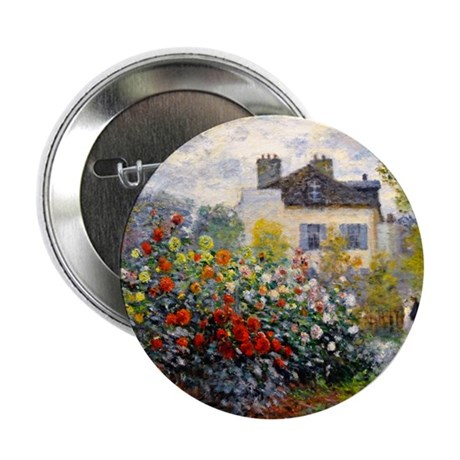 "Monet - Argenteuil 2.25"" Button"