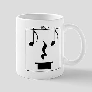 Smiley Notes Allegro Mug