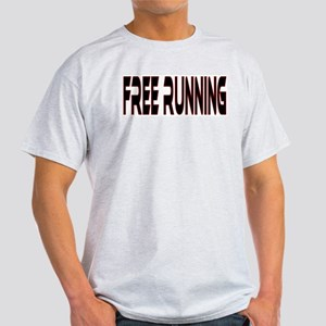 Free Running Ash Grey T-Shirt