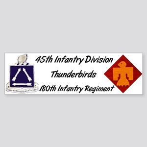 Bumper Sticker w/ 180th Crest