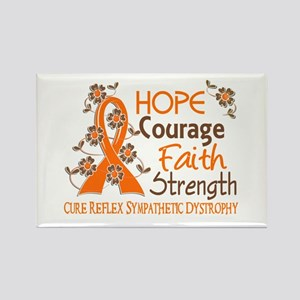 Hope Courage Faith 3 RSD Rectangle Magnet