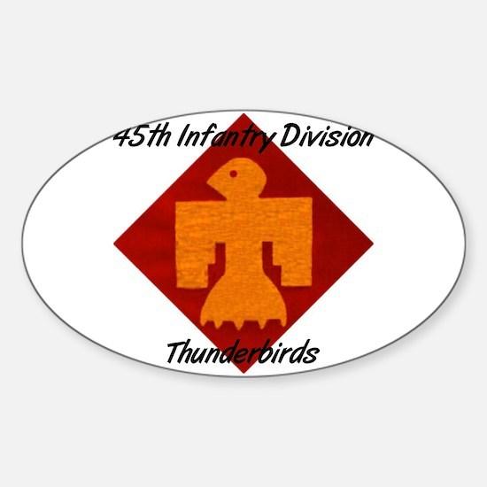 Thunderbird Oval Decal