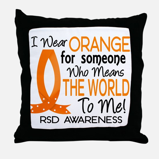 Means World To Me 1 RSD Throw Pillow