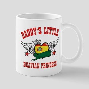 Daddy's little Bolivian Princess Mug