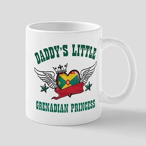 Daddy's Little Grenadian Princess Mug