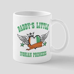 Daddy's Little Ivorian Princess Mug