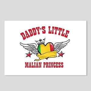 Daddy's Little Malian Princess Postcards (Package
