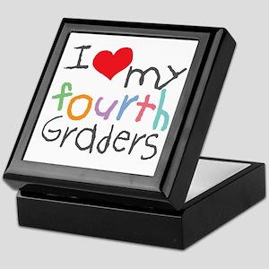 I Love My 4th Graders Keepsake Box