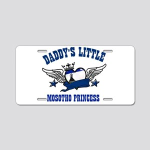 Daddy's Little Mosotho Princess Aluminum License P