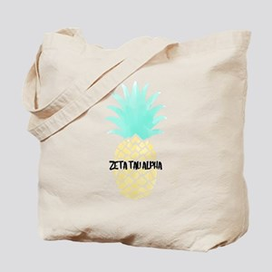 Zeta Tau Alpha Pineapple ZTA Tote Bag