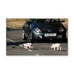 Piglets car magnet