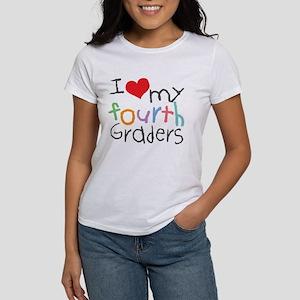 I Love My 4th Graders Women's T-Shirt