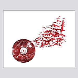 Vinyl Music Birds Small Poster