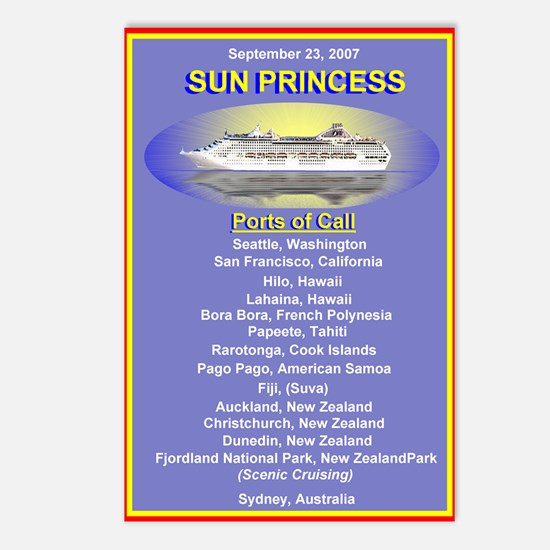 Sun SPORTS- Postcards (Package of 8)