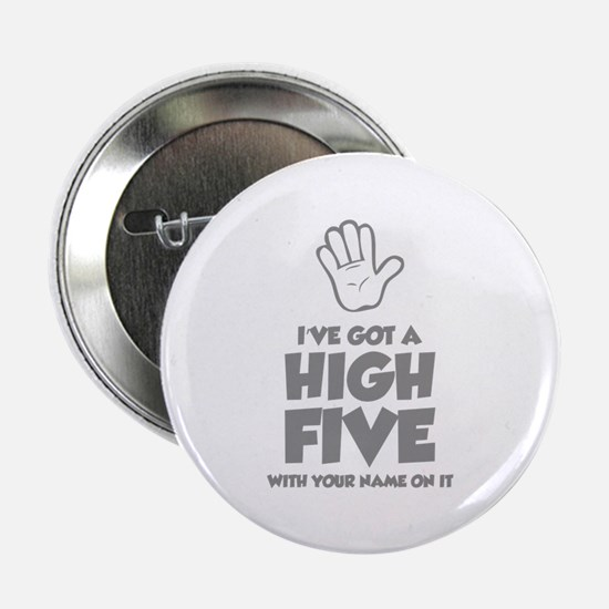 "High Five 2.25"" Button (10 pack)"
