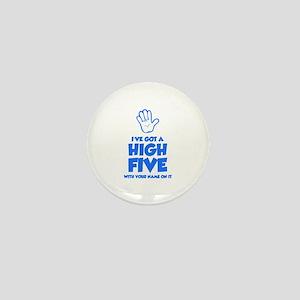 High Five Mini Button