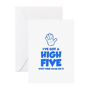 High five stationery cafepress m4hsunfo
