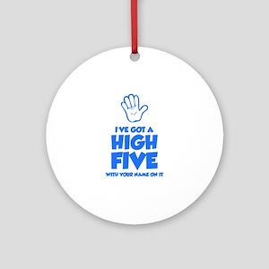 High Five Ornament (Round)