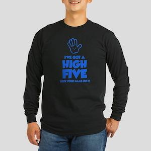 High Five Long Sleeve Dark T-Shirt