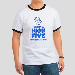 High Five Ringer T