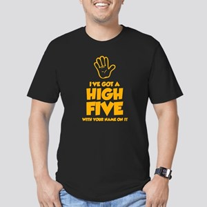 High Five Men's Fitted T-Shirt (dark)