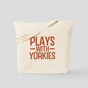 PLAYS Yorkies Tote Bag