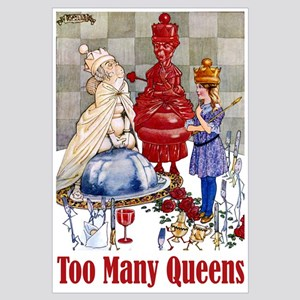 ALICE: TOO MANY QUEENS Wall Art