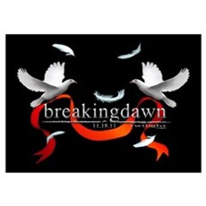 Twilight Breakingdawn White D Wall Art Poster