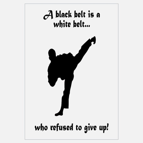 Black Belt Refusal Wall Art