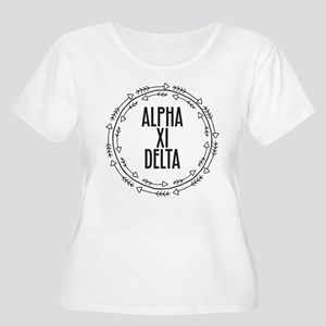 Alpha Xi Delta Sorority Arrow Plus Size T-Shirt