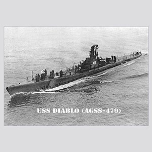 USS DIABLO Wall Art