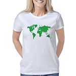 World Map Women's Classic T-Shirt