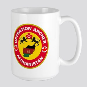 Operation Archer Large Mug